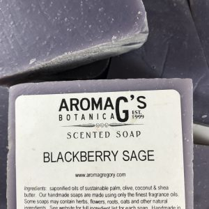blackberry sage wholesale soap