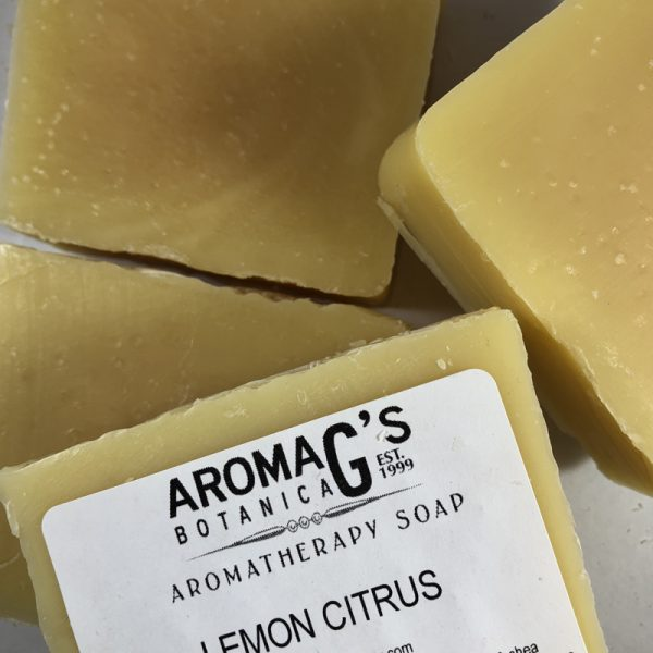 lemon citrus wholesale soap