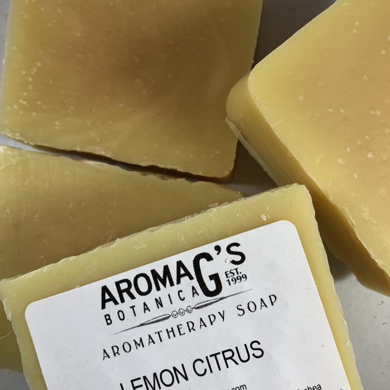 lemon citrus wholesale soap