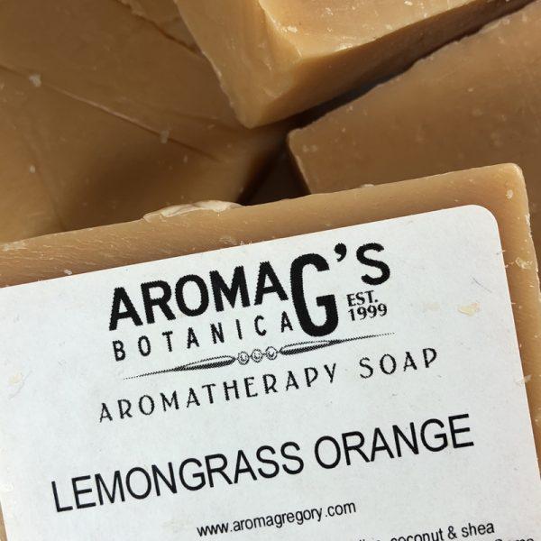 lemongrass orange wholesale soap