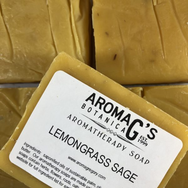 lemongrass sage wholesale soap