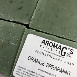orange spearmint wholesale soap