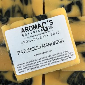patchouli mandarin wholesale soap