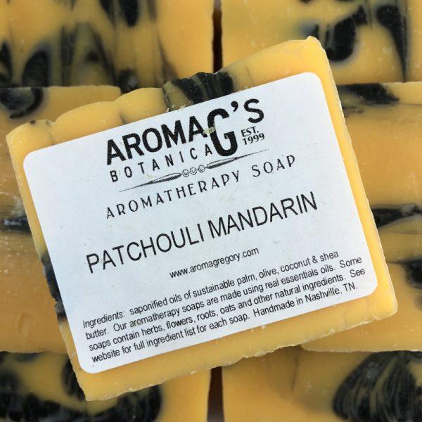 patchouli mandarin wholesale soap