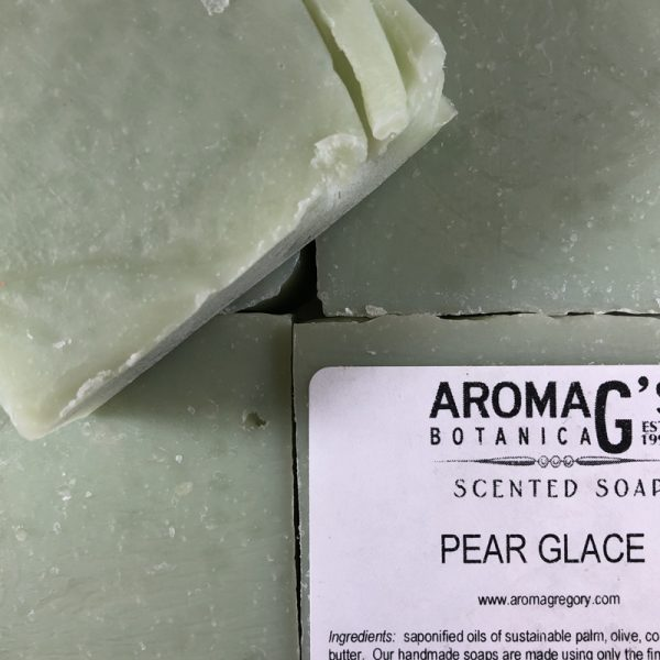pear glace wholesale soap